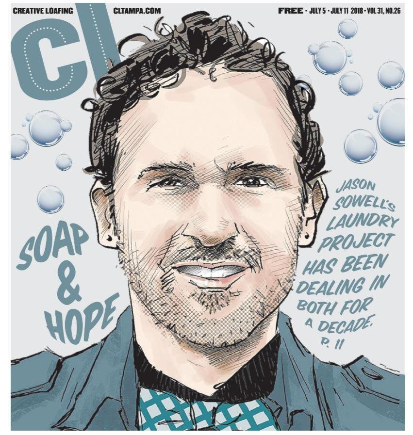 Jason Sowell, Founder Of Tampa's Current Initiatives, Looks Back On 10 Years Of Soap And Hope