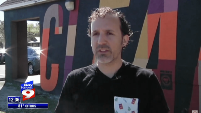 Bay News 9 Laundry Project CLEAN Campaign Mural Story