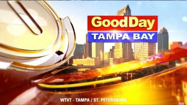 Fox 13 Good Day Tampa Bay- Laundry Project Story