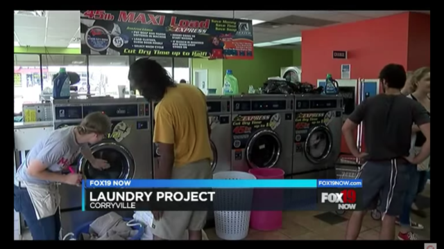 Fox 19 Cincinnati – Laundry Project Story