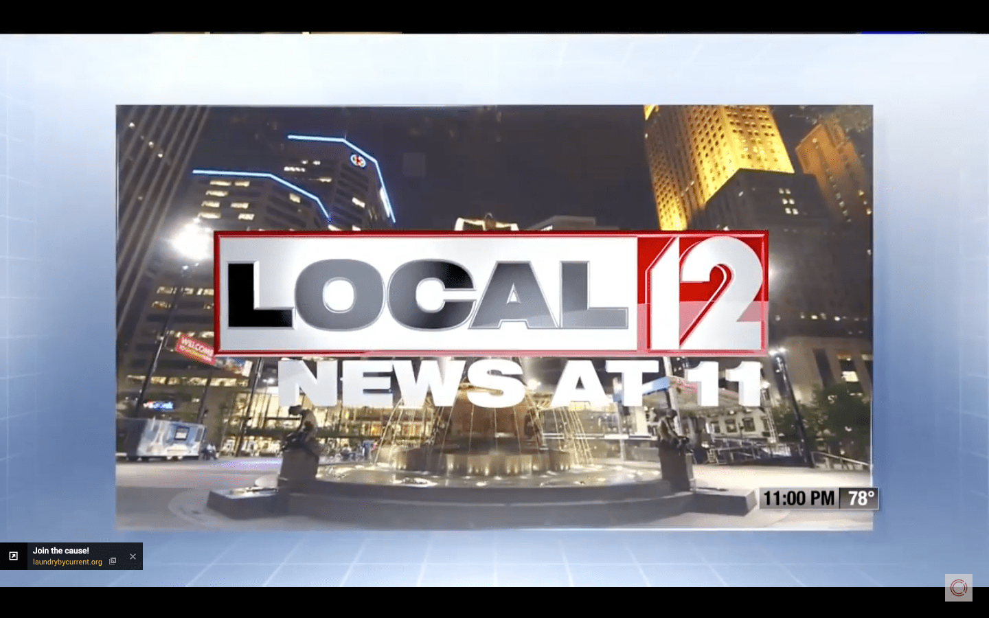 WKRC Channel 12 News Cincinnati – Laundry Project Story