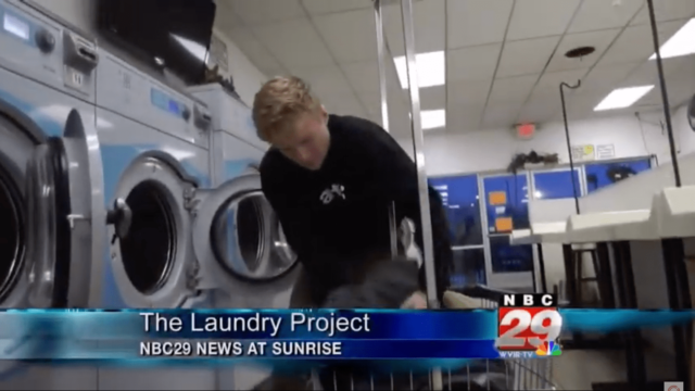 NBC News 29 Charlottesville – Laundry Project Story