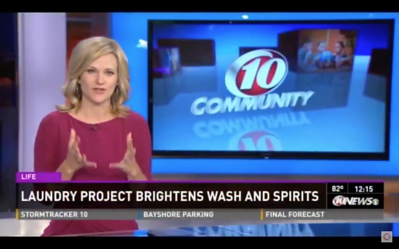 WTSP 10 Community – Laundry Project
