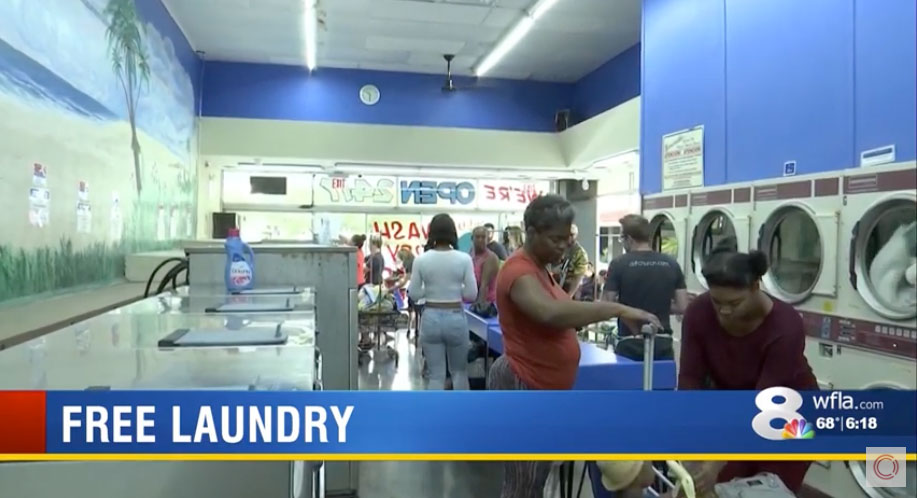 WFLA News Channel 8 – Laundry Project Story