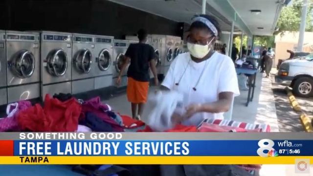 WFLA News Channel 8 – Laundry Project COVID-19 Relief Update Story