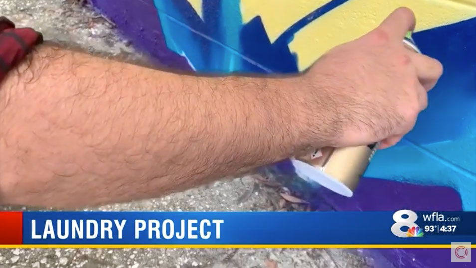 News Channel 8 – Laundry Project x CLEAN Mural Story 2