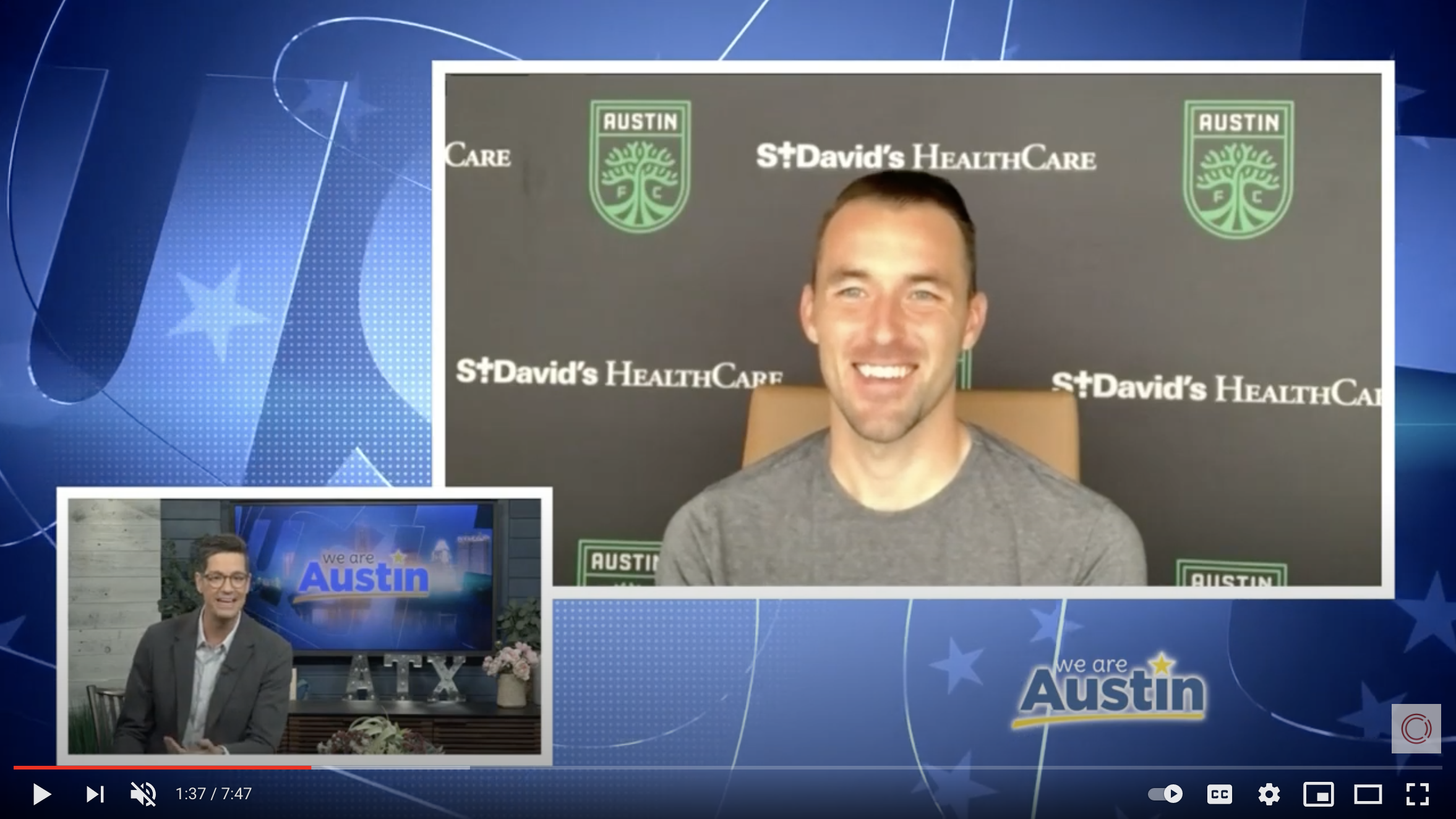We Are Austin Morning Show – Austin FC Brad Stuver x Laundry Project Interview
