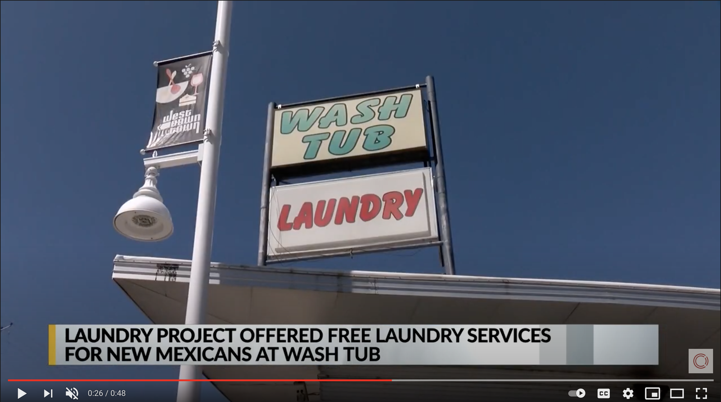 KRQE Albuquerque – Laundry Project x The Curse Story